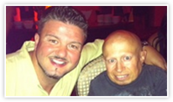 Scott and Vern Troyer